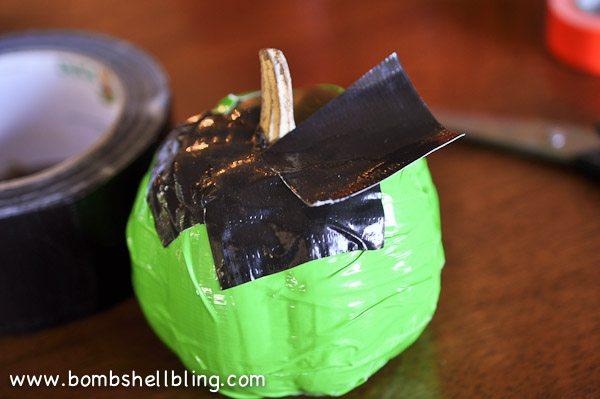 Duck Tape Pumpkins-5