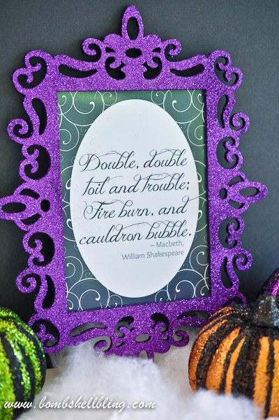 Macbeth Printable from Bombshell Bling-2