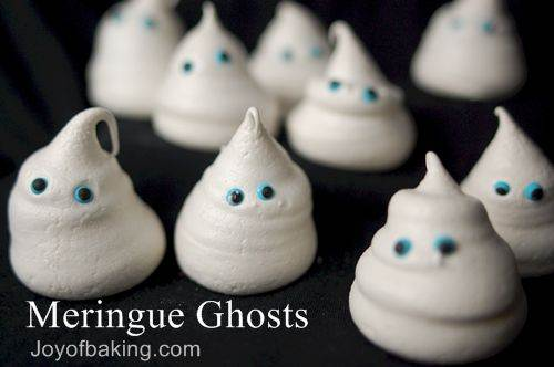 *meringue ghosts