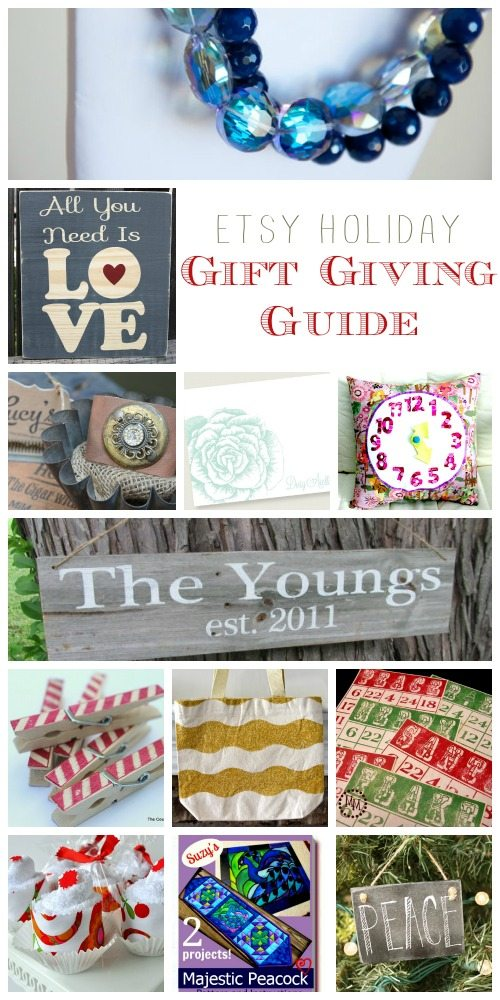 Etsy Holiday Gift Giving Guide