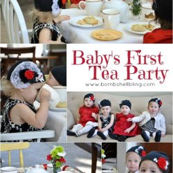Baby's First Tea Party . . . Downton Style!