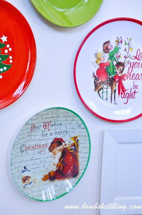 Christmas Plate Wall-13