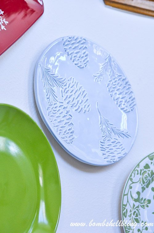 Christmas Plate Wall-15