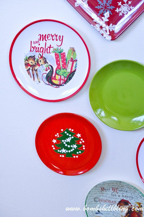 Christmas Plate Wall-18