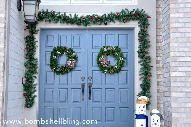 Front Door Wreath Redo