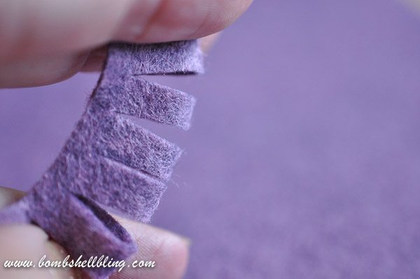 How to Make a Felt Chrysanthemum-11