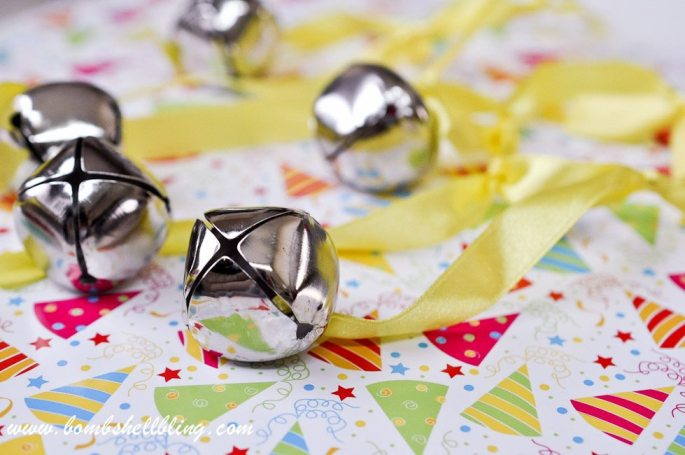 Jingle bell shakers! So simple and fun for any kid party!