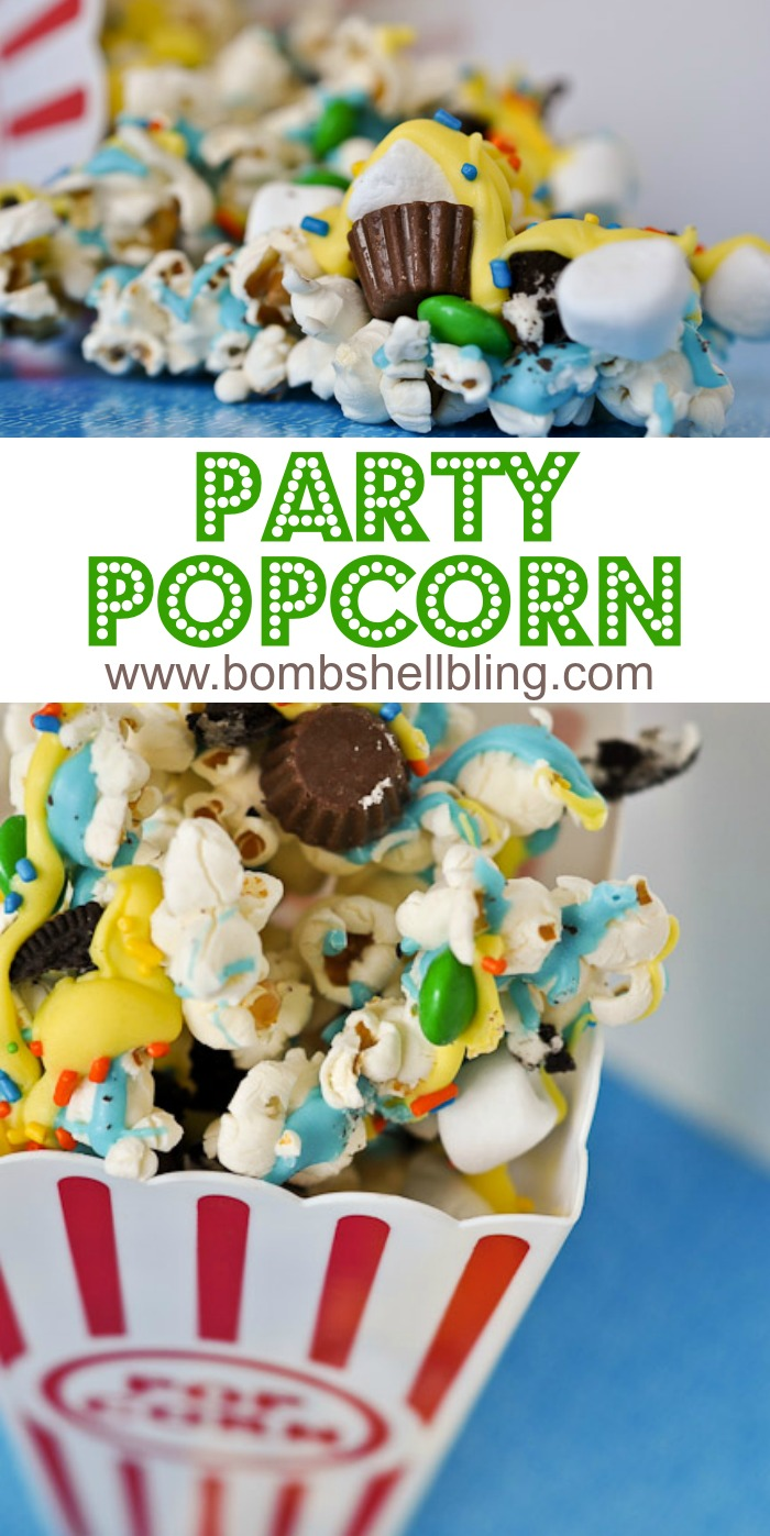 The PERFECT popcorn recipe for any event!  Too fun!!