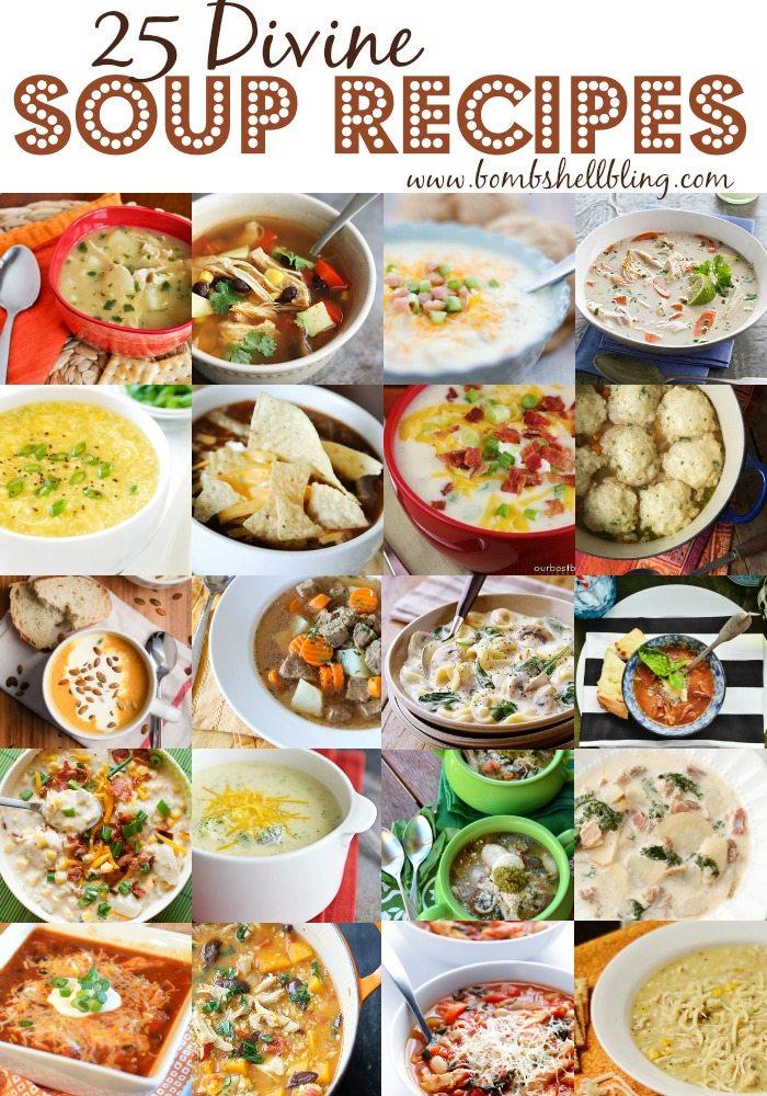 25 Divine Soup Recipes