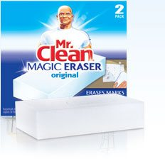 Cleaning supplies- Magic Eraser