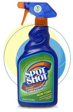 Cleaning supplies- Spot Shot