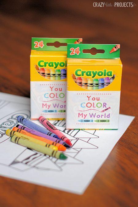 *Crayons