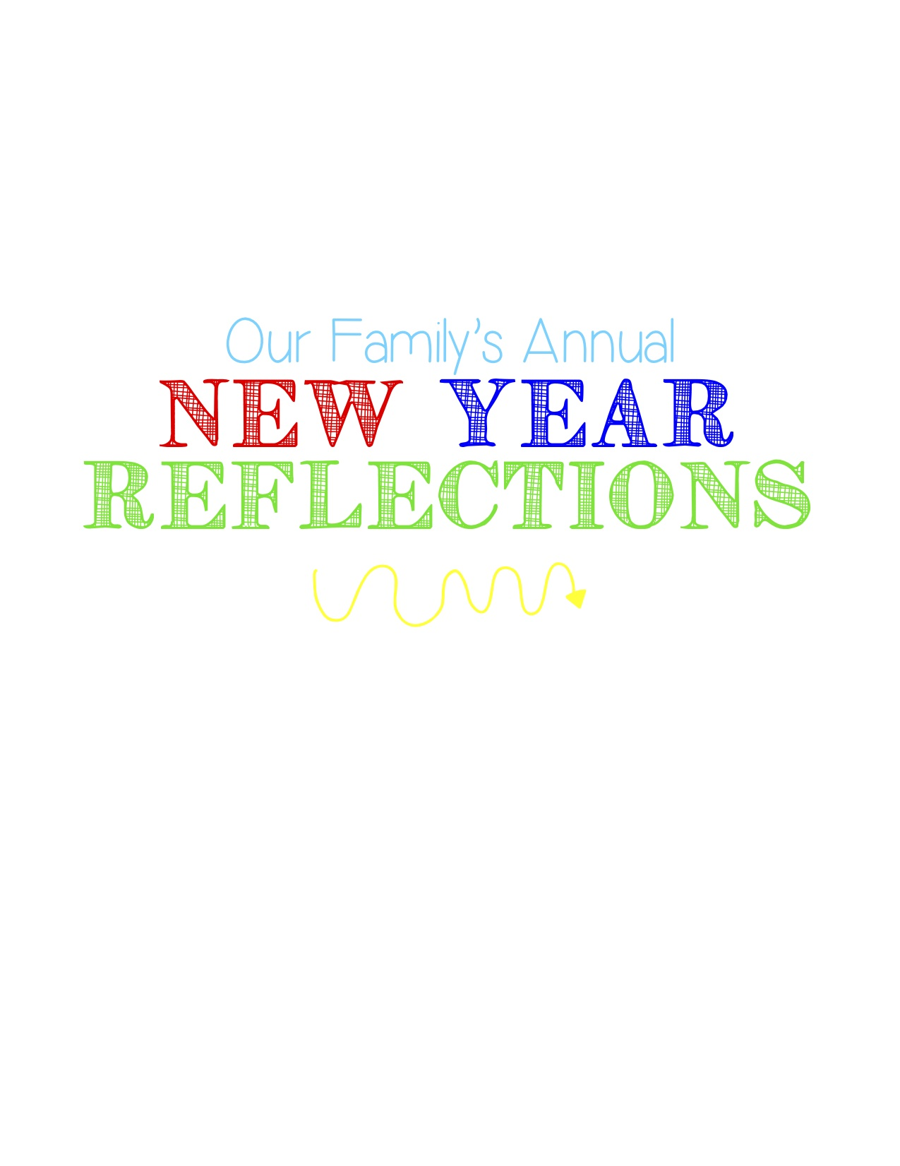 New Year Reflections Family Tradition Looking Back On The