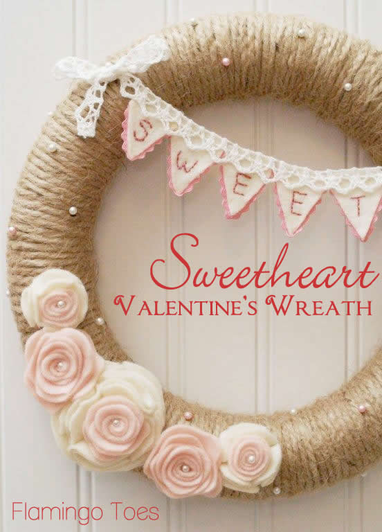 #Sweetheart-Valentines-Wreath
