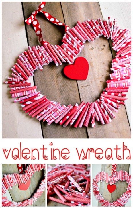 #Valentine's Wreath by Place of My Taste