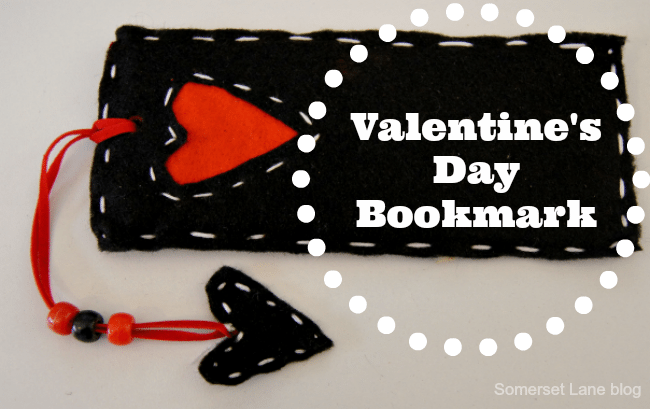 +Valentine's Day Bookmark