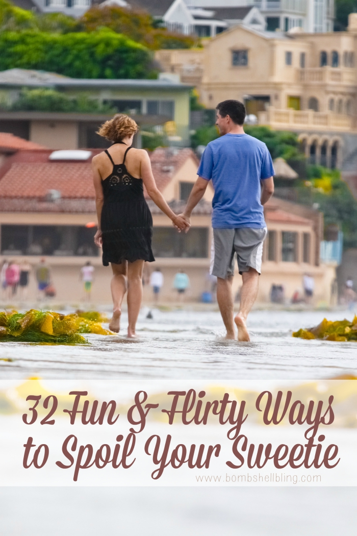 Things to do for your hubby here are 32 fun and flirty ideas for ways that you can spoil your sweetheart, from fun dates to silly, small things. This list is perfect for Valentine's Day!