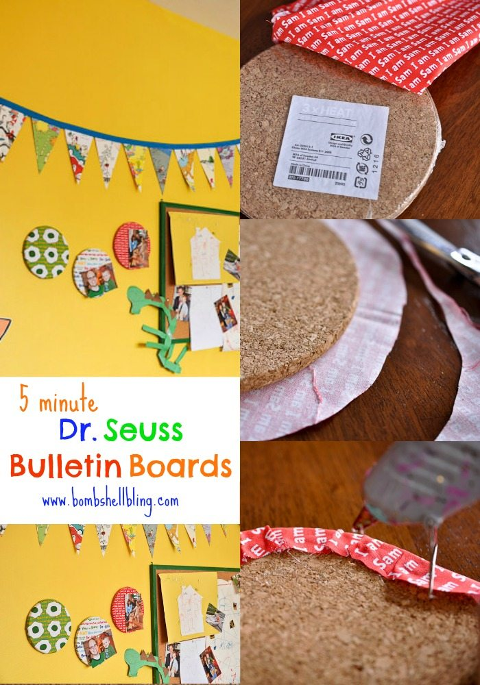 5 Minute Dr Seuss Bulletin Boards