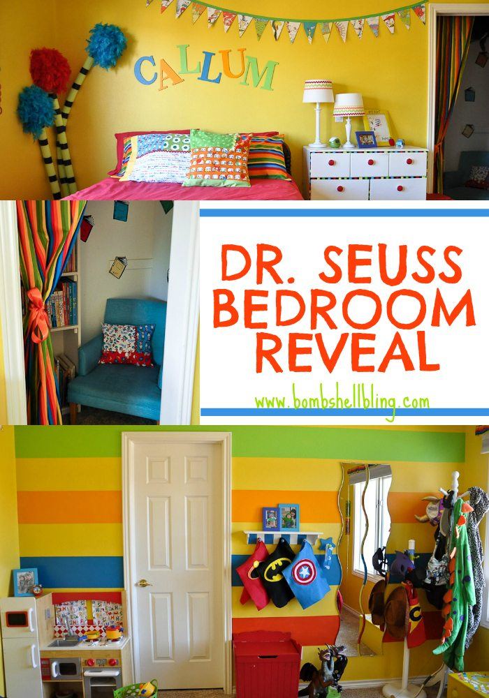 Dr Seuss Bedroom from Bombshell Bling