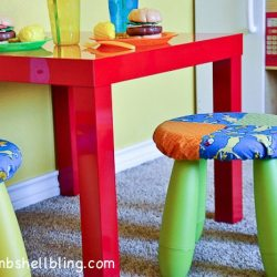 Dr. Seuss Room: Fun, Simple Stool Covers