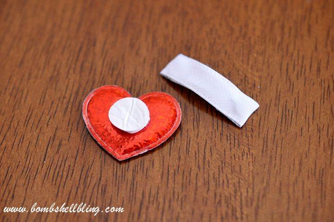 Simple Heart Hair Clip-10