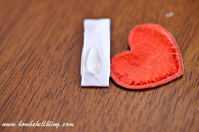 Simple Heart Hair Clip-11