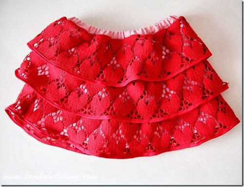 Tiered Lace Skirt Tutorial-12
