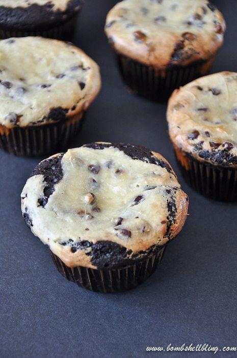 Black Bottom Cupcakes-3
