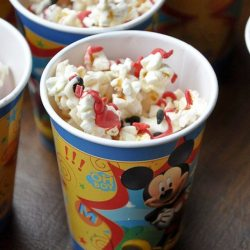 Mickey Mouse Popcorn Recipe