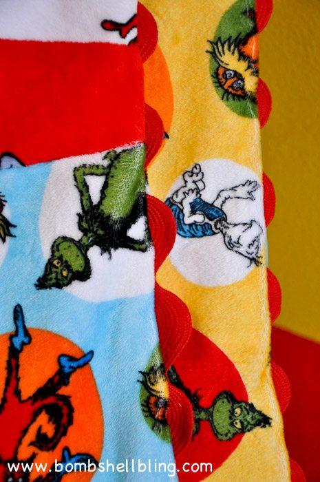 Dr Seuss Cuddle Blanket-18