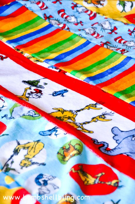 Dr Seuss Cuddle Blanket-21