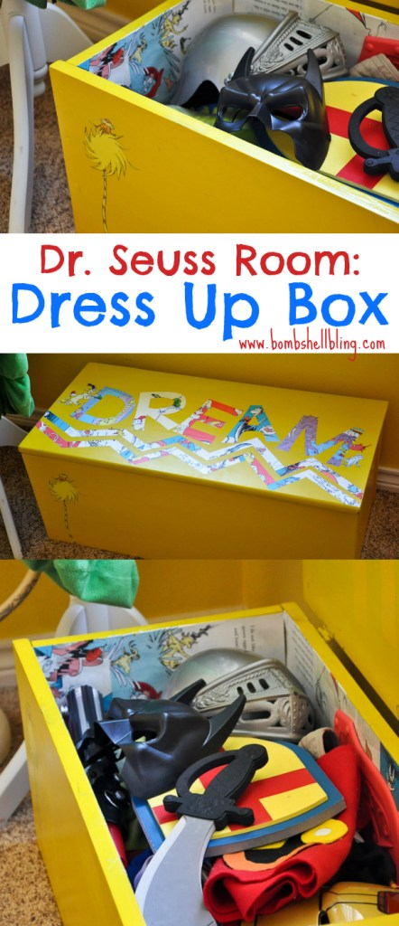 Dr Seuss Room Dress Up Toy Box