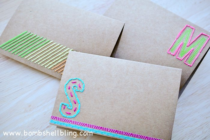 Hand Stitched Cards-15