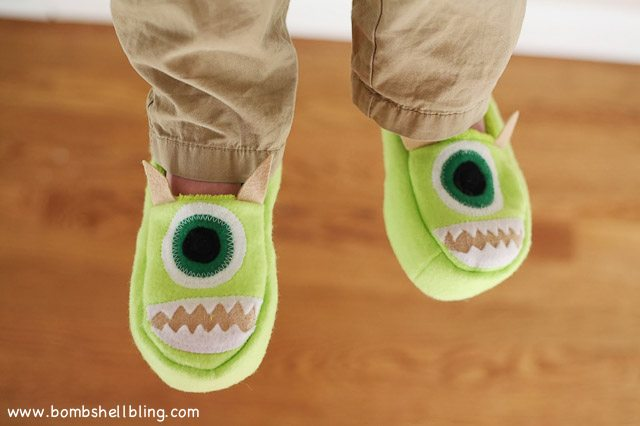 Monsters Inc Slippers-4