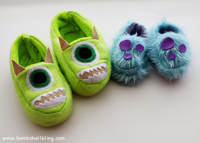 Monsters Inc Slippers-8