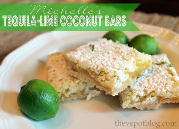 *tequila lime coconut bars
