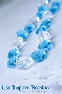 Elsa Inspired Necklace