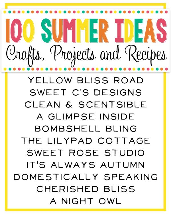 100 Summer Ideas