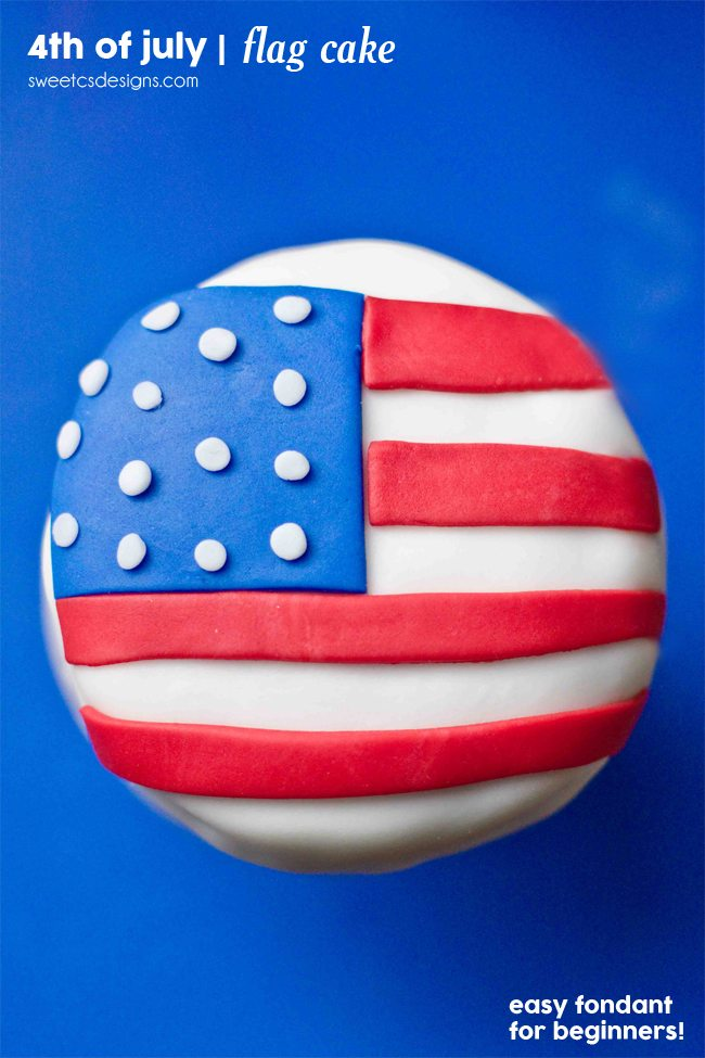 4th American-Flag-mini-cakes-these-are-so-easy-to-make-and-prefect-for-parties