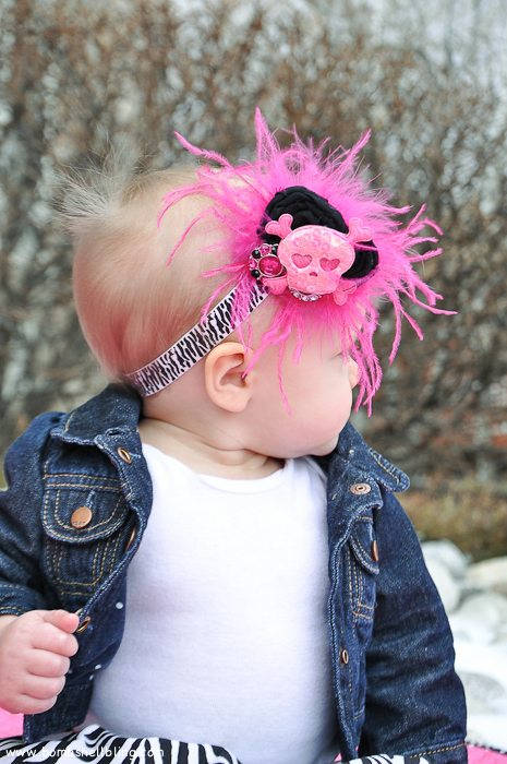 Punk Rock Baby Headband-11