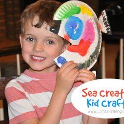 Sea Creatures Kid Crafts