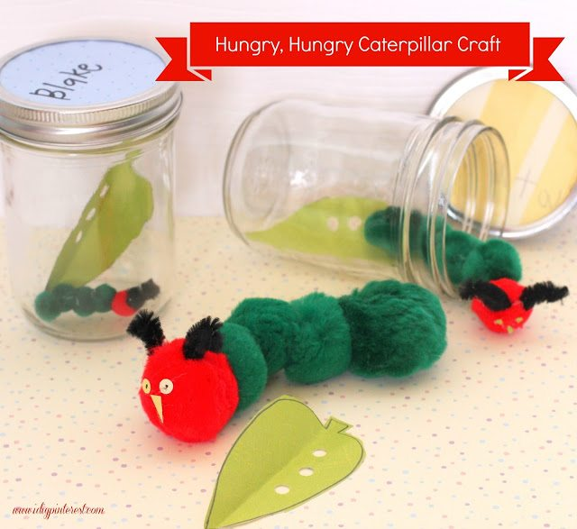 +hungry caterpillar craft