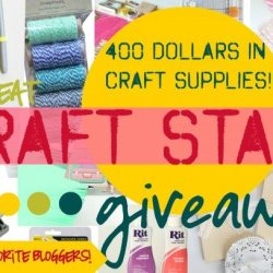 Craft Supplies Galore Giveaway