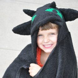 Toothless the Dragon Hooded Towel