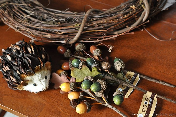Fall Hedgehog Wreaths