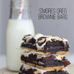 S'mores Oreo Brownie Bars
