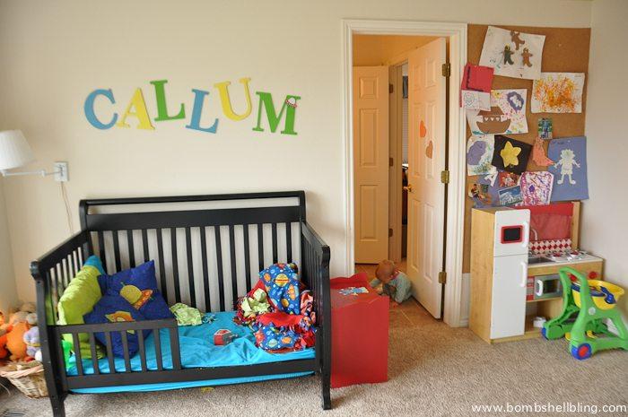 Nursery Reveal: BEFORE