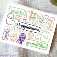 Cute Printable Halloween Cards