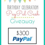 $300 Pay Pal Giveaway
