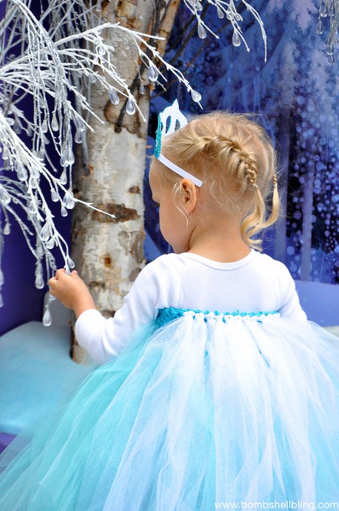 Frozen Family Costumes Elsa Tutu Dress -4